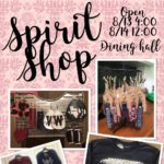 Spirit Shop Open! @ The Dining Hall